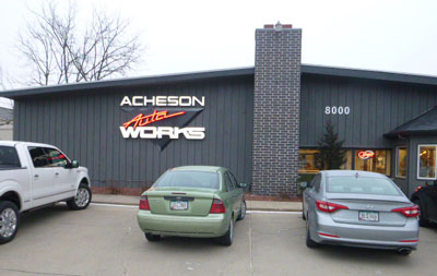 Acheson Auto Works | 515-223-4300 | 8000 University Blvd, Clive IA 50325